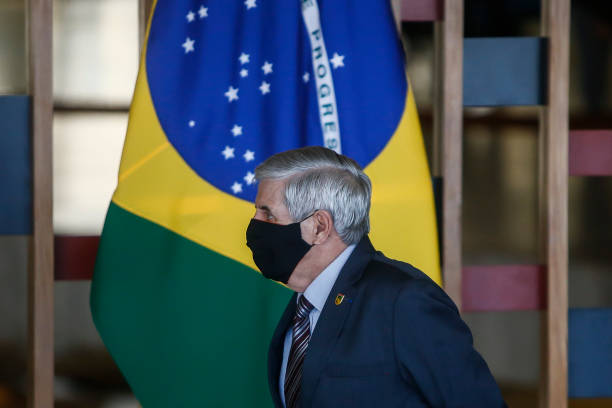 BRA: Brazil Vice-President Hamilton Mourao and the Legal Amazon National Council State Ministers Hold a Press Conference Amidst the Coronavirus (COVID-19) Pandemic