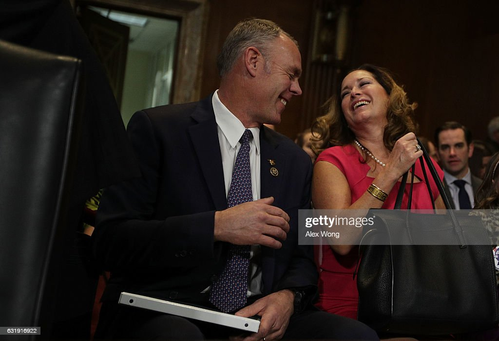 Confirmation Hearing Held For Ryan Zinke To Become Interior