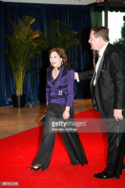 Secretary of Labor Hilda Solis arrives at the White House Correspondents' Association dinner on May 1 2010 in Washington DC The annual dinner...