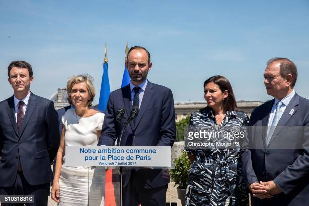 Secretary of State Benjamin Grivaux President of Ile de France Region Valerie Pecresse French Prime Minister Edouard Philippe Mayor of Paris Anne...