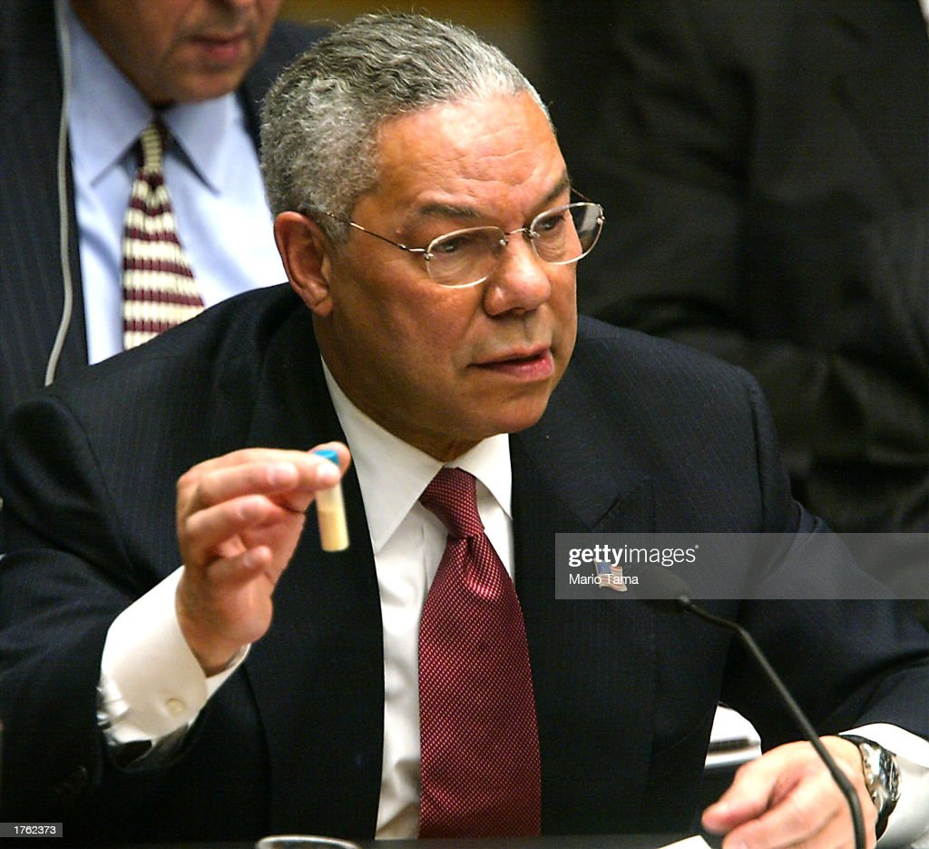 15 Years Ago Today Secretary of State Colin Powell Addresses UN Incorrectly Claiming Iraq Possessed WMD's