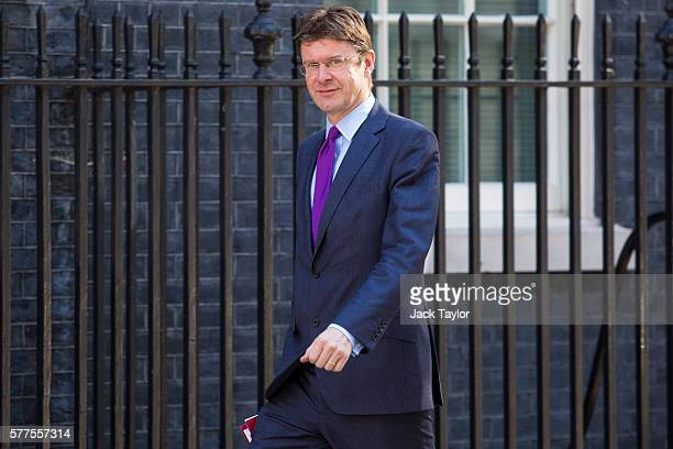 Secretary of State for Business Energy and Industrial Strategy Greg Clark arrives at Downing Street for the weekly cabinet meeting on July 19 2016 in...