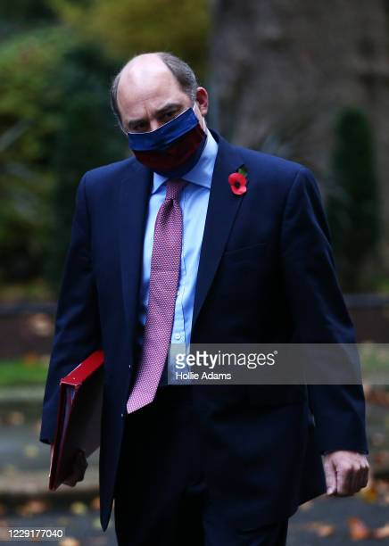 Secretary of State for Defence Ben Wallace arrives in Downing Street on October 20 2020 in London England Boris Johnson could impose stringent new...