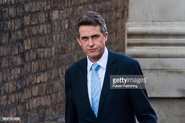 Secretary of State for Defence Gavin Williamson arrives for a Brexit Cabinet committee meeting at 10 Downing Street in central London to discuss a...