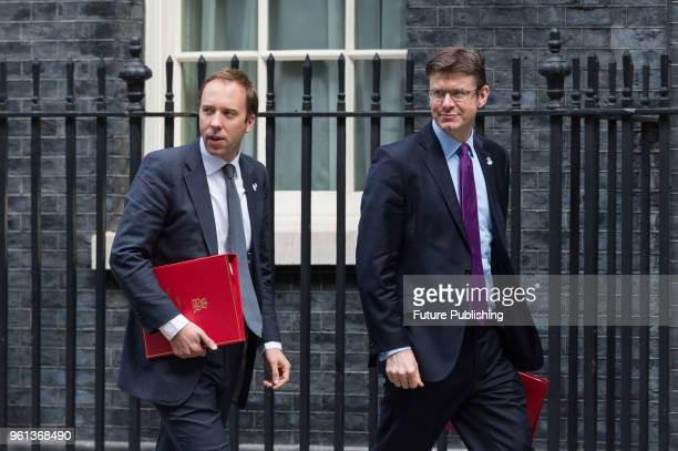 Secretary of State for Digital Culture Media and Sport Matt Hancock and Secretary of State for Business Energy and Industrial Strategy Greg Clark...