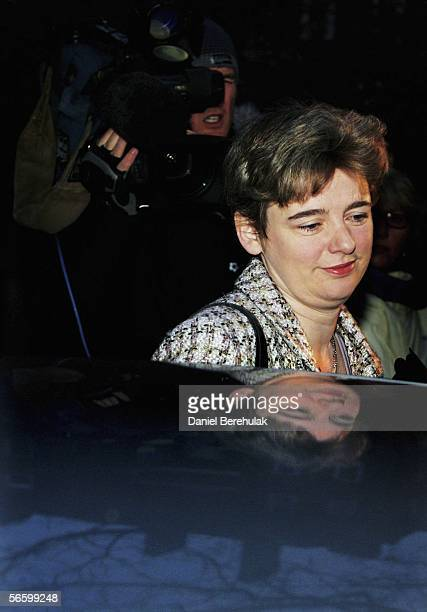 Secretary of State for Education Ruth Kelly leaves her home on January 16 2005 in London England Foreign Office minister Kim Howells has said that he...