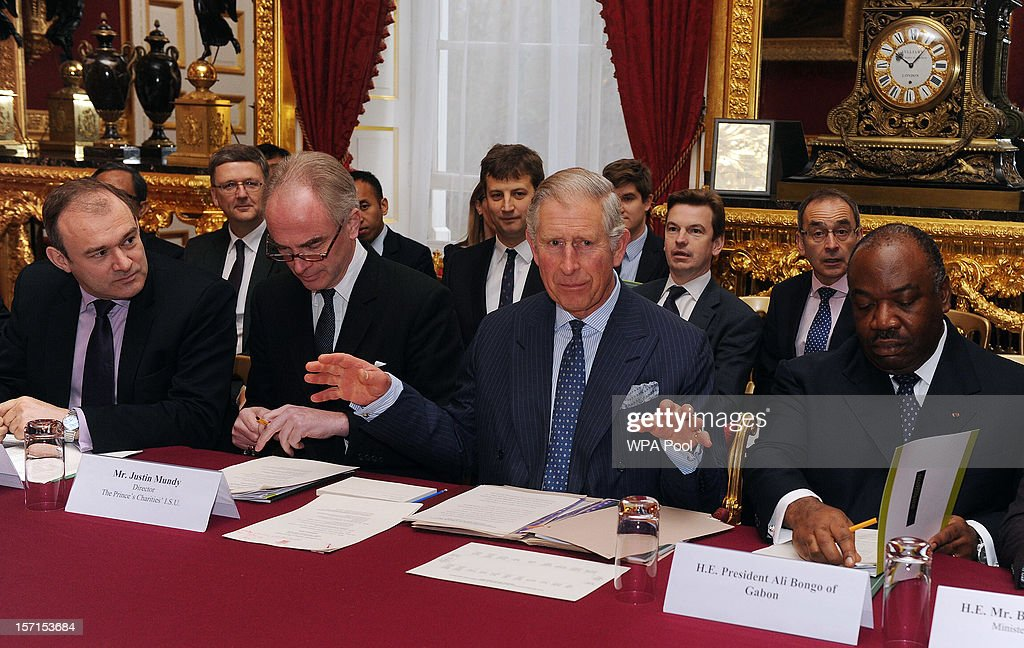 Prince Charles Attends Deforestation Meeting