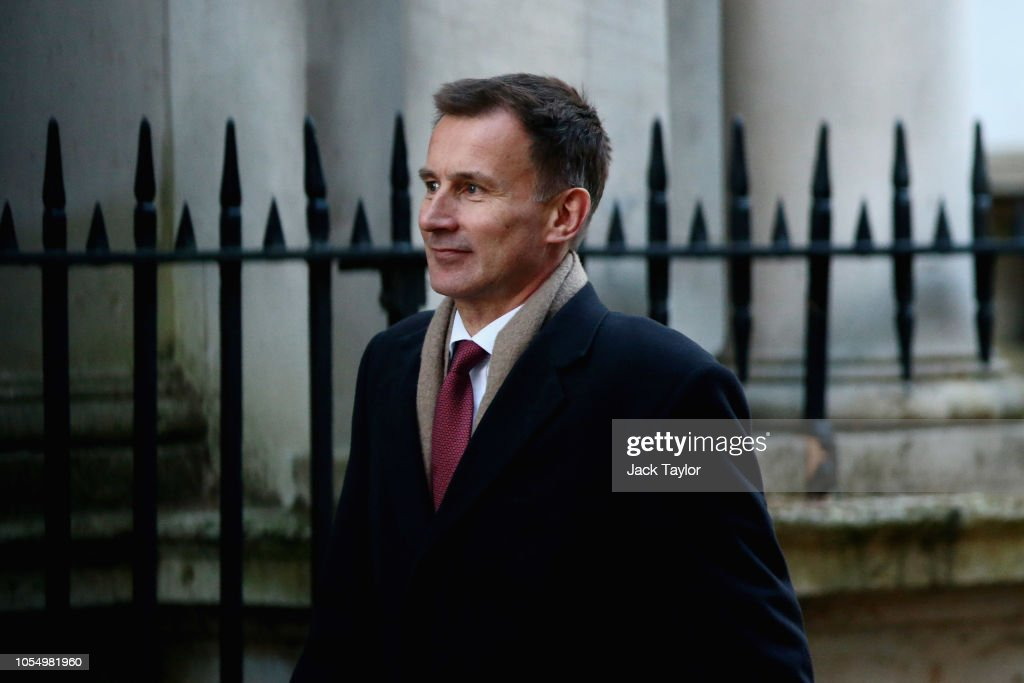 UK Government Ministers Attend A Cabinet Meeting Before The Chancellor Delivers Budget To Parliament : News Photo