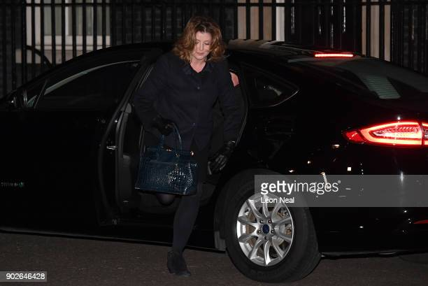 Secretary of State for International Development Penny Mordaunt arrives at 10 Downing Street as Prime Minister Theresa May reshuffles her cabinet on...