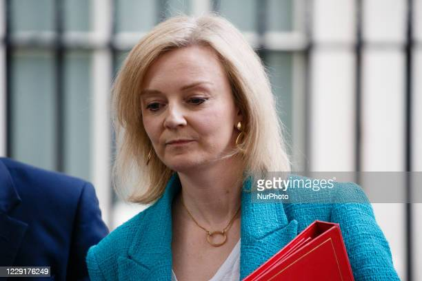 Secretary of State for International Trade, President of the Board of Trade and Minister for Women and Equalities Liz Truss, Conservative Party MP...
