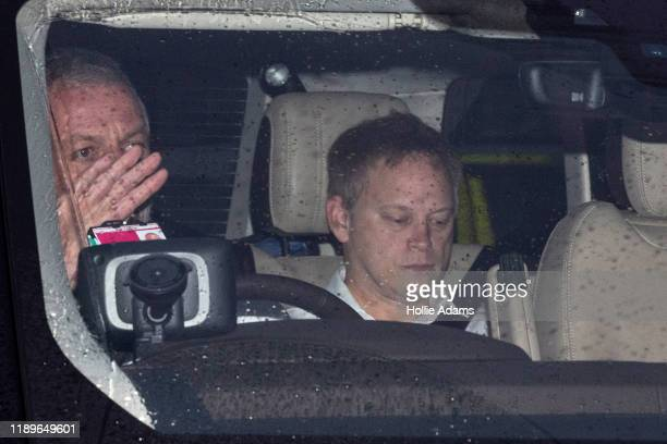 Secretary of State for Transport Grant Shapps arrives at the Houses of Parliament on December 20 2019 in London England Members of parliament will...