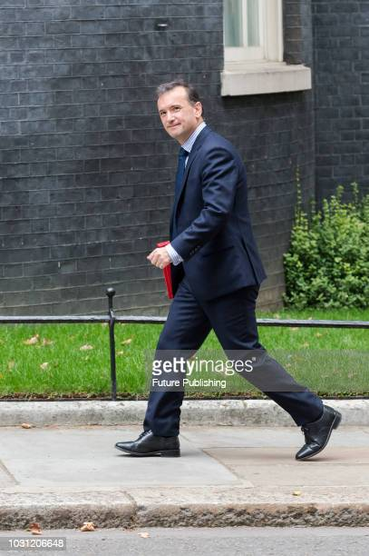 Secretary of State for Wales Alun Cairns arrives for a weekly cabinet meeting at 10 Downing Street in central London September 11 2018 in London...