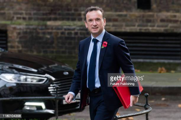 Secretary of State for Wales Alun Cairns attends the Cabinet meeting at 10 Downing Street PHOTOGRAPH BY Wiktor Szymanowicz / Barcroft Media