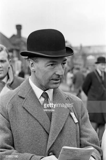Secretary of State for War John Profumo at Sandown Park Racecourse 22nd March 1963