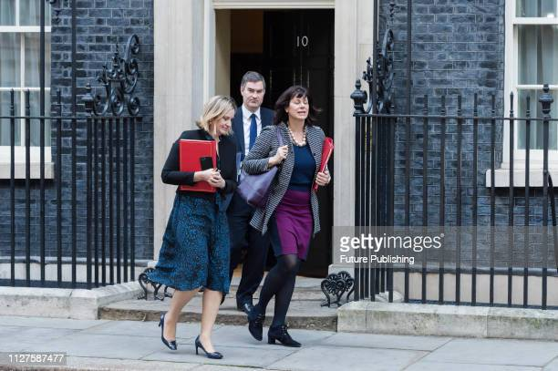 Secretary of State for Work and Pensions Amber Rudd Minister of State for Energy and Clean Growth Claire Perry and Lord Chancellor and Secretary of...