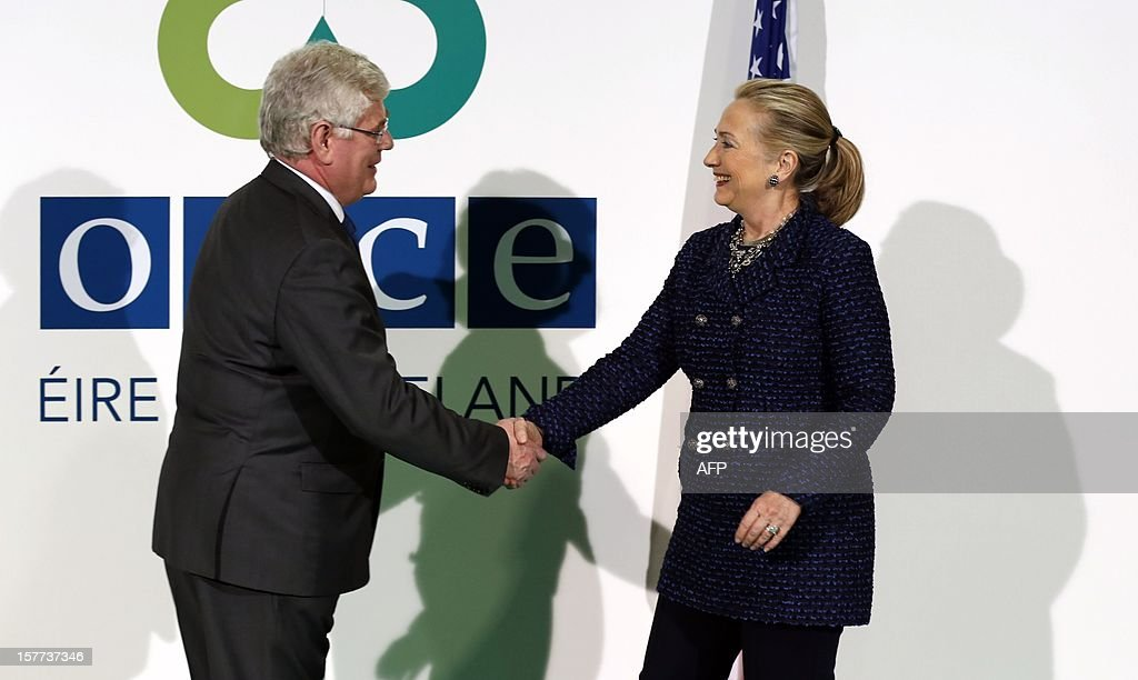 Clinton Attends OSCE Ministerial Council