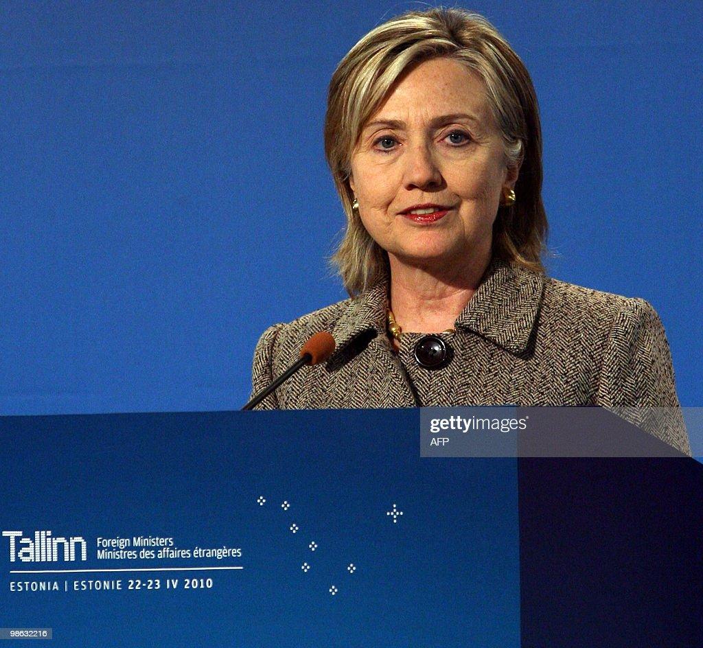 US Secretary of State Hillary Clinton sp : Nieuwsfoto's