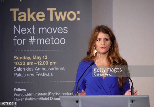 Secretary of State in charge of Equality between Women and Men in France Marlene Schiappa attends the Swedish Film Institute Gender Equality and...