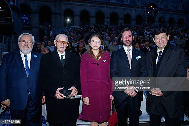 Secretary of State JeanMarc Todeschini Chancellor of the Liberation Fred Moore Grand Duke and Grand Duchess Heirs Stephanie and Guillaume de...