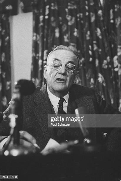 Secretary of State John Foster Dulles.