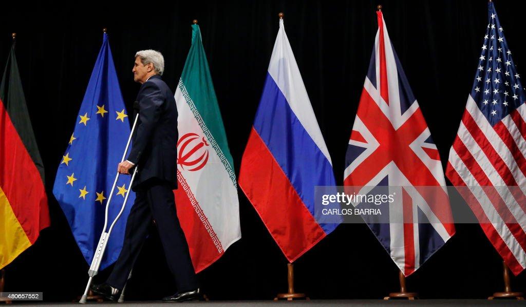AUSTRIA-IRAN-EU-US-CHINA-NUCLEAR-POLITICS : News Photo