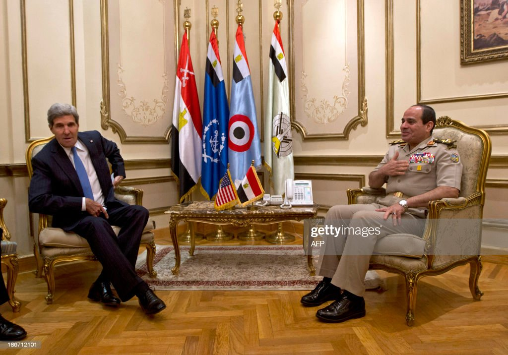 EGYPT-POLITICS-US-DIPLOMACY : News Photo