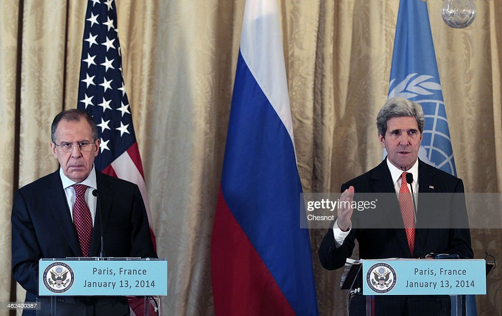 The Friends Of Syria Press Conference : News Photo