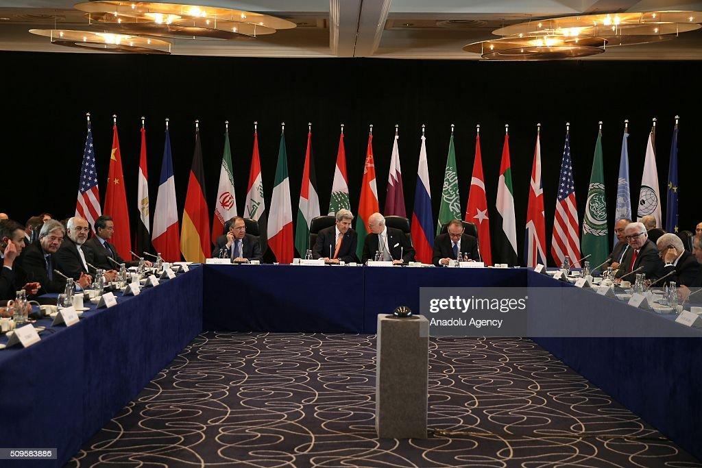 International Syrian Support Group Meeting in Munich : Foto jornalística