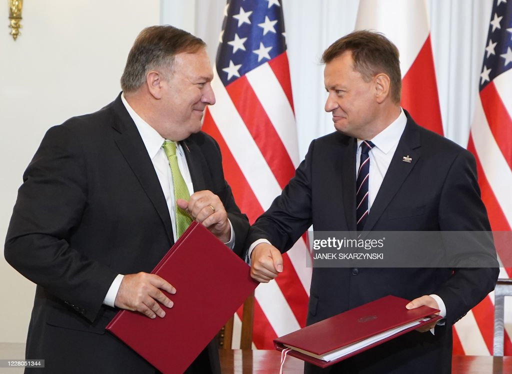 POLAND-US-POLITICS-DIPLOMACY : News Photo