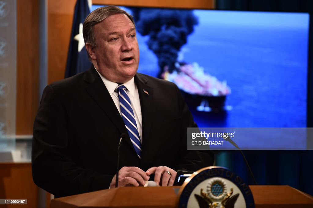 US-POMPEO-POLITICS-OIL : News Photo