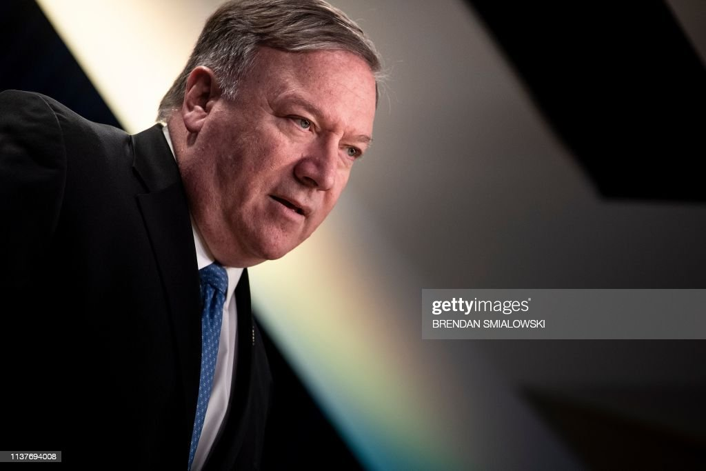 DC: Secretary Of State Mike Pompeo Discusses New Cuba Policy