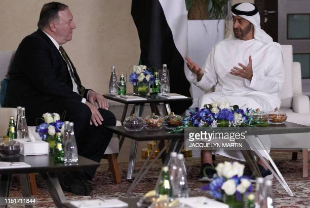 Secretary of State Mike Pompeo meets with Mohamed bin Zayed al-Nahyan, Crown Prince of Abu Dhabi and Deputy Supreme Commander of the UAE Armed...