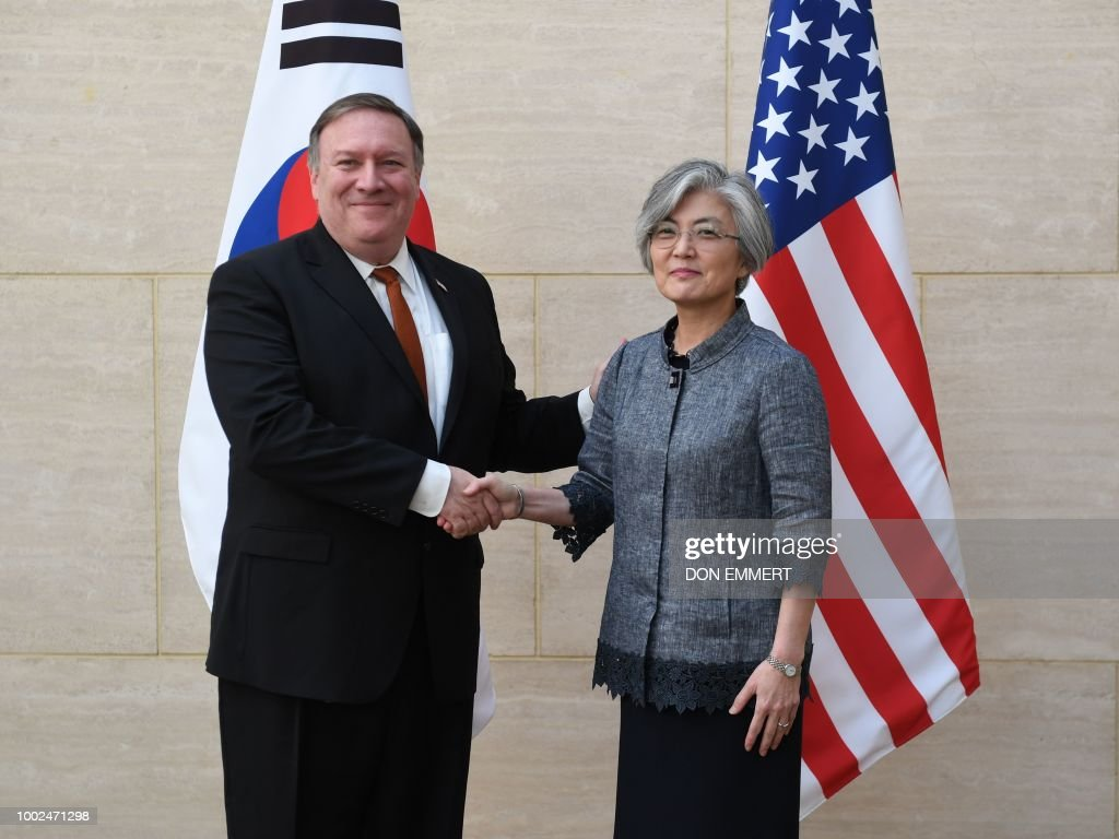 Secretary Of State Pompeo Visits The UN For Meetings