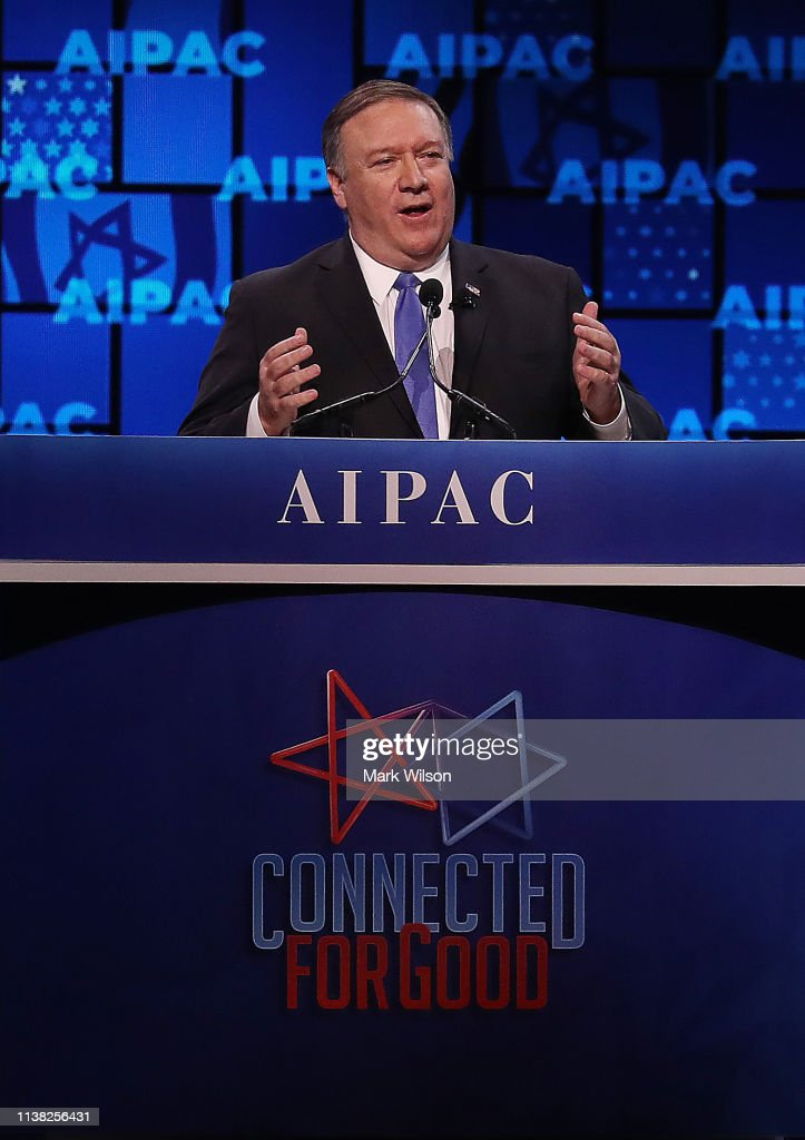 Annual AIPAC Conference In Washington Draws Top Lawmakers And Government Officials : News Photo
