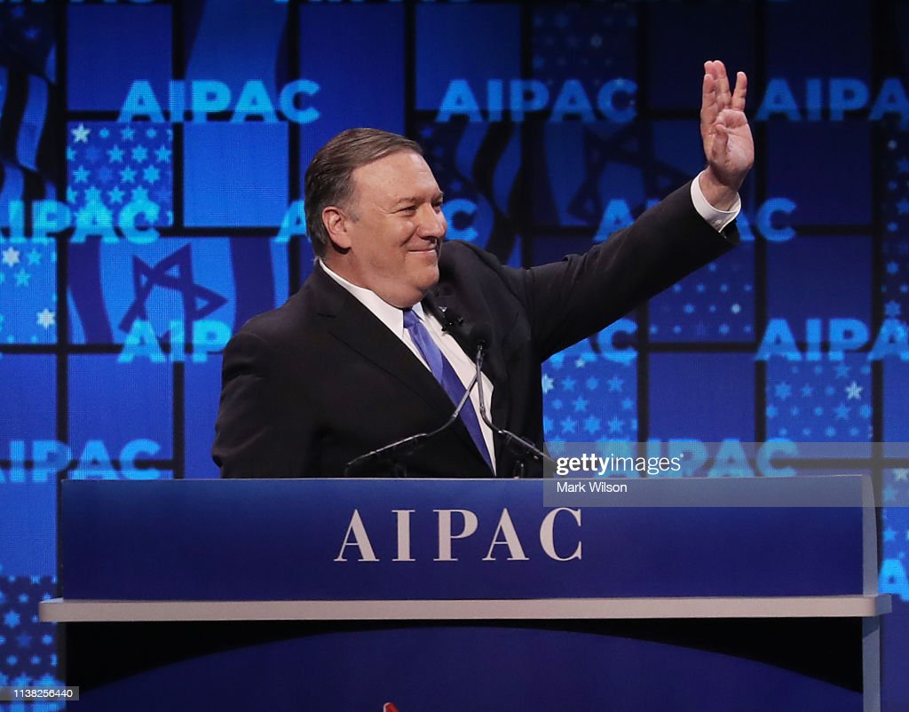 Annual AIPAC Conference In Washington Draws Top Lawmakers And Government Officials : Nieuwsfoto's