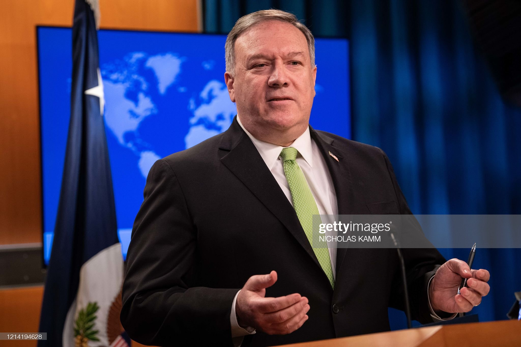 US-POLITICS-POMPEO : Nieuwsfoto's