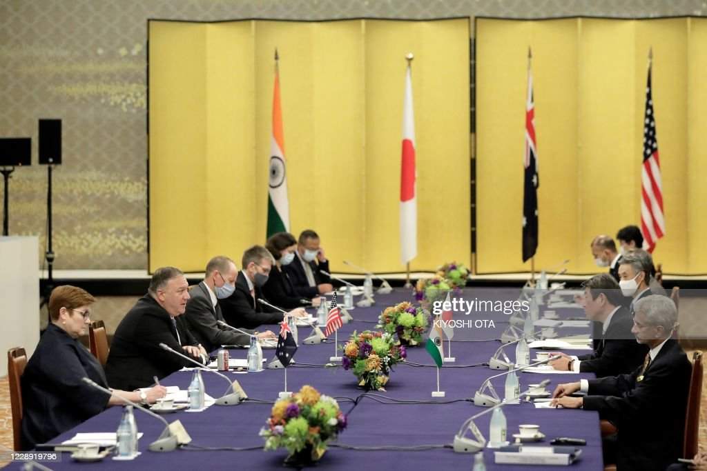 JAPAN-US-AUSTRALIA-INDIA-DIPLOMACY : News Photo