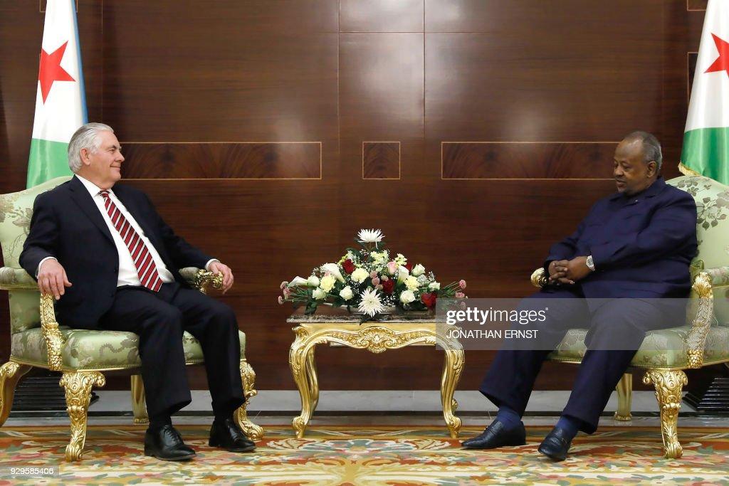 DJIBOUTI-US-AFRICA-DIPLOMACY : News Photo