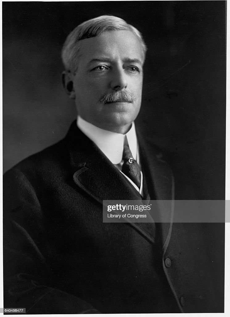 Secretary of State Robert Lansing : News Photo