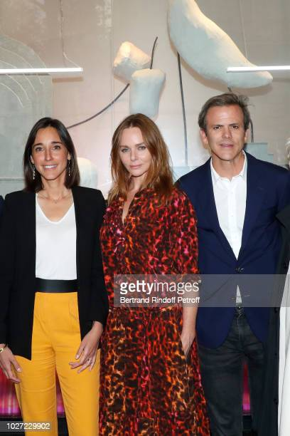 Secretary of State to the Minister of the Ecological and Solidarity Transition Brune Poirson Stylist Stella McCartney and Director of Image...