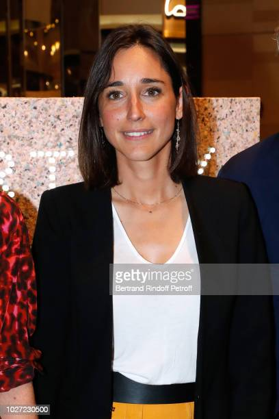 Secretary of State to the Minister of the Ecological and Solidarity Transition Brune Poirson attends the Go For Good X Stella McCartney at Galeries...