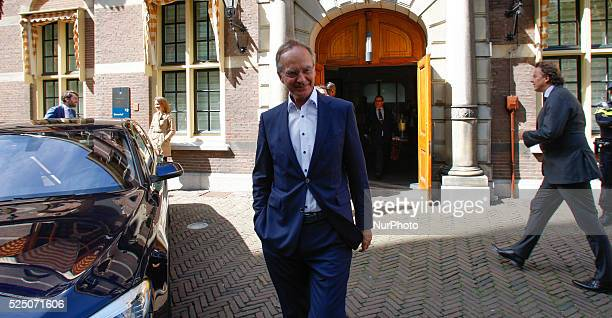 Secretary of State Wilma Mansveld of Infrastructure is seen leaving the weekly ministers council in The Hague on Friday May 1st