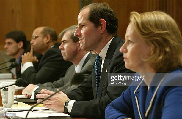 Secretary of the Commonwealth of Massachusetts William F Galvin New York State Attorney General Eliot Spitzer and National Association of Securities...