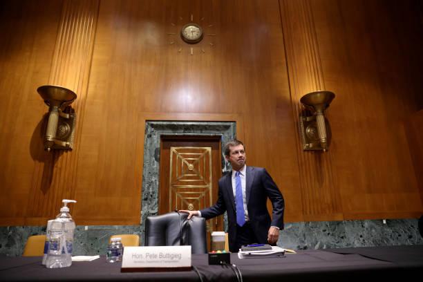 DC: Transportation Secretary Buttigieg Testifies On Proposed Budget To Senate Committee