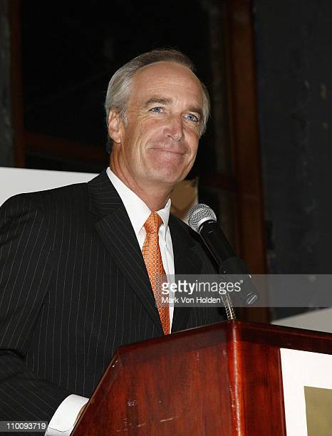 US Secretary of the Interior Dirk Kempthorne at the Field Stream Magazine's Heroes of Conservation Awards Gala September 20 2007 at the Museum of...