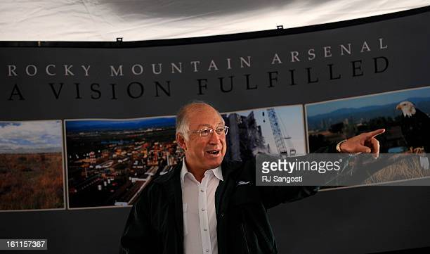 ARSENAL15 Secretary of the Interior Ken Salazar celebrates the transformation of the Rocky Mountain Arsenal into a premier urban national wildlife...