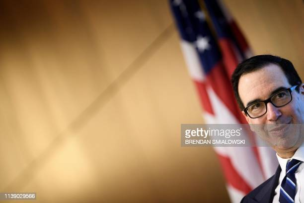 VA: Treasury Secretary Steven Mnuchin Attends Conference On Fintech And The Future Of Banking