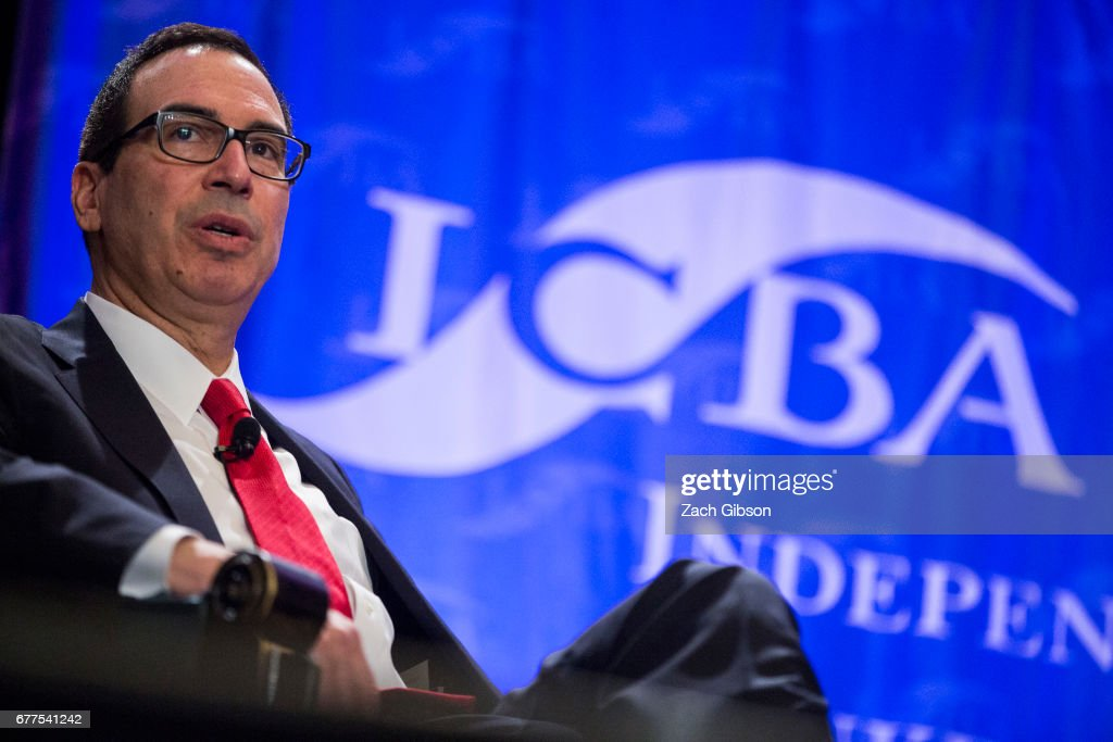 Treasury Secretary Steve Mnuchin Delivers Regulatory Update At The Independent Community Bankers Of America 2017 Capital Summit