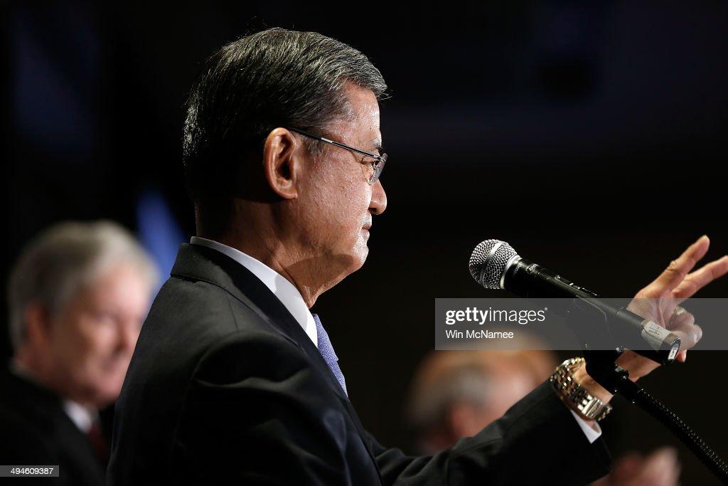 Veterans Affairs Secretary Shinseki Addresses Homeless Veterans Conference