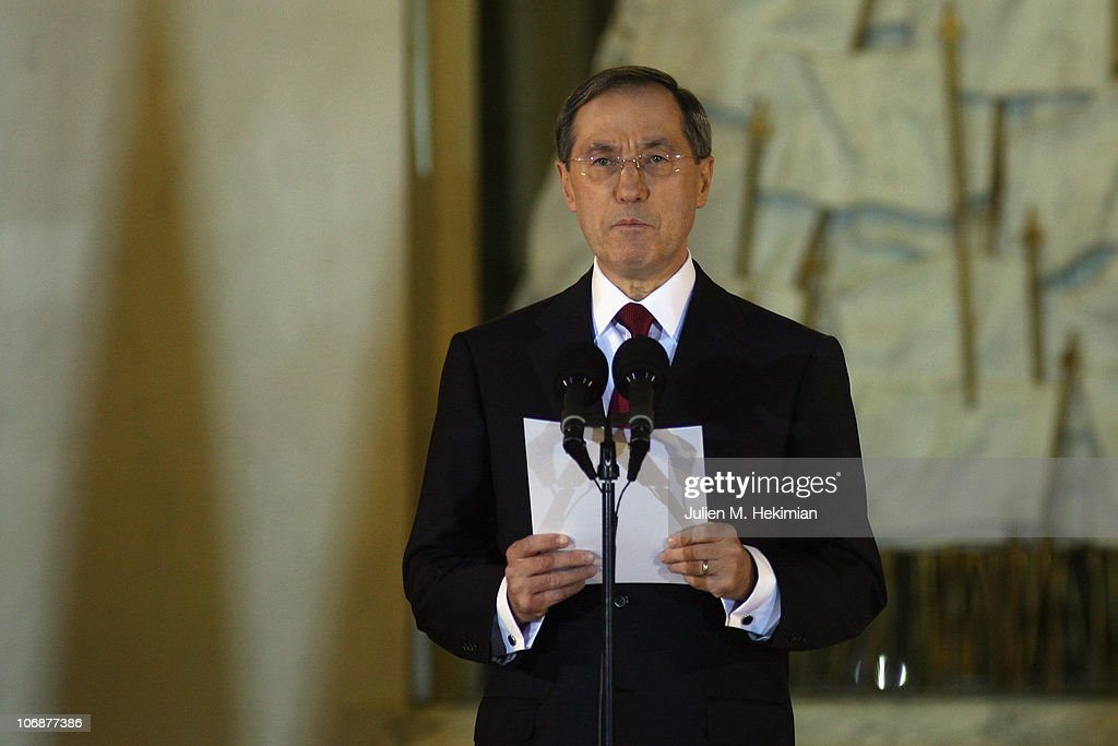 State Secretary At Elysee Palace Claude Gueant Announces New Government